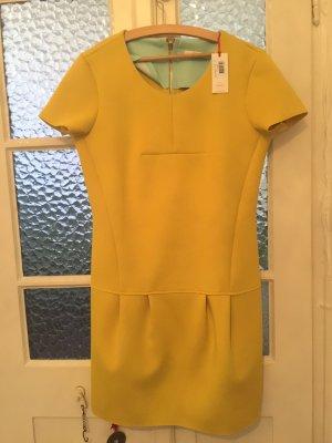 Gelbes Neopren- Kleid