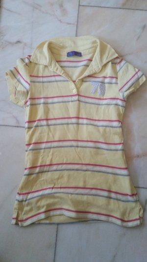 Gelbes Poloshirt