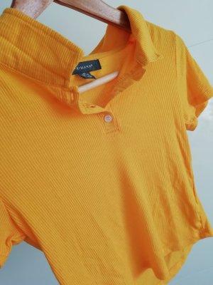 Primark Cropped Shirt yellow