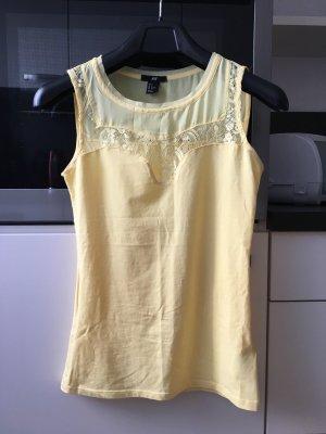 Gelbes Shirt Gr. S H&M