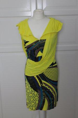 Gelbes Sommer /Jersey-Kleid