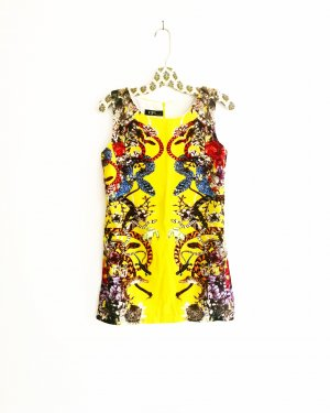 Anthropologie Mini Dress multicolored