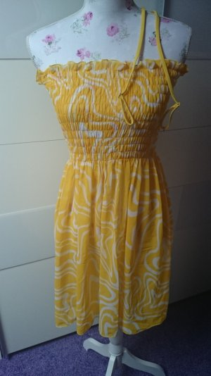Apart Beachwear yellow-white