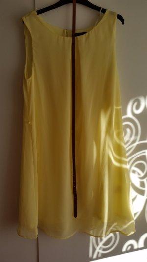 gelbes Sommerkleid in 38