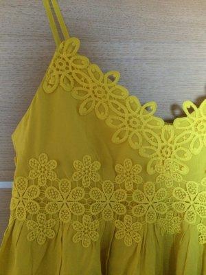 Gelbes Sommerkleid von Topshop