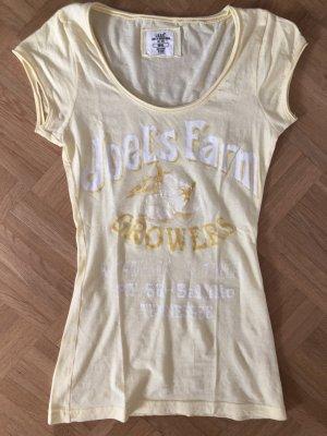Gelbes Sommershirt