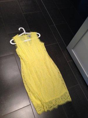 Gelbes Spitzenkleid von H&M