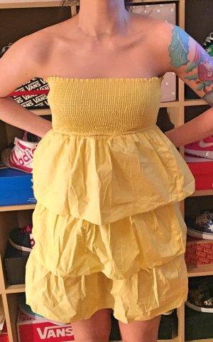 gelbes süßes ZARA Sommer Kleid S
