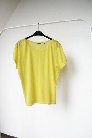 Gelbes T-Shirt aus Baumwolle, Marc O'Polo