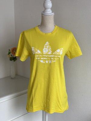 Gelbes T-Shirt von Adidas