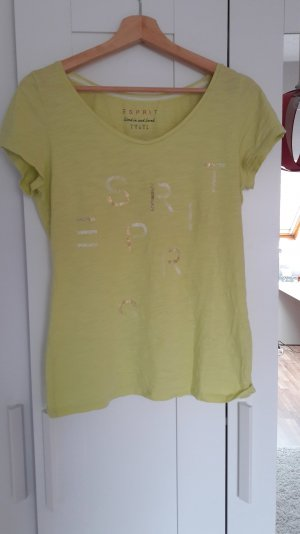 Gelbes Tshirt von Esprit Größe S