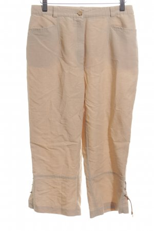 Gelco 7/8 Length Trousers nude casual look