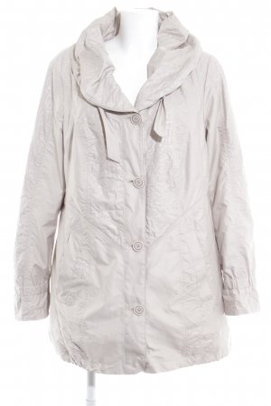 Gelco Hooded Coat oatmeal casual look