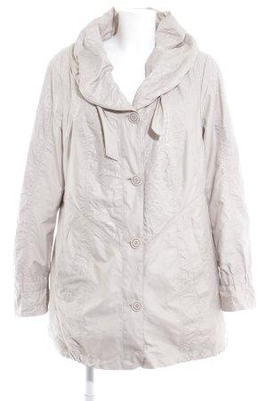 Gelco Manteau à capuche beige clair style décontracté
