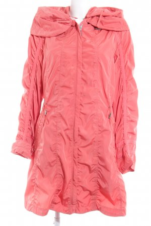 Gelco Hooded Coat salmon casual look