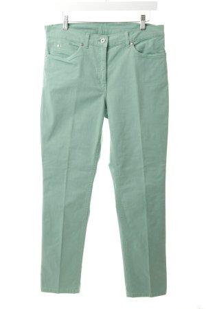 Gelco Straight-Leg Jeans blassgrün