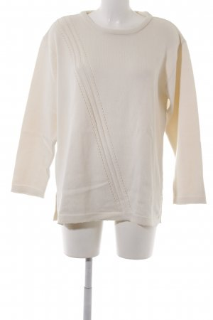 Gelco Strickpullover creme Casual-Look