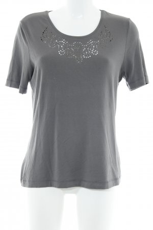 Gelco T-Shirt dunkelgrau Casual-Look
