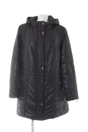 Gelco Wintermantel schwarz schlichter Stil