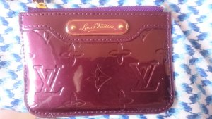 Louis Vuitton Portefeuille bordeau cuir