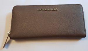 Michael Kors Wallet grey brown leather