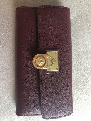 Michael Kors Wallet gold-colored-bordeaux