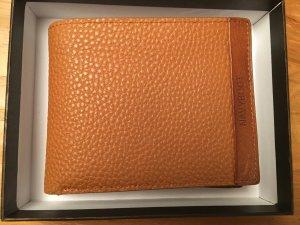 Geldbeutel aus braunem Leder von Navyboot inkl. Verpackung (wie neu!)