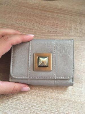 Wallet grey brown-beige