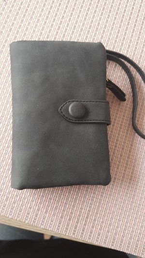 Wallet dark grey-anthracite