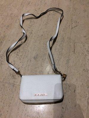 Geldbeutel- Handtasche weiß Mango