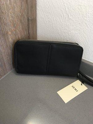 Geldbeutel ichi neu Portmonee schwarz Blogger Fashion Accessoires Geldbörse