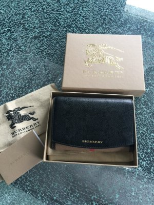 Burberry Portefeuille multicolore cuir