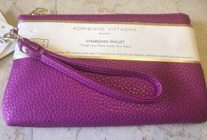 Geldbeutel Tasche mit Handy Ladefunktion Neu charging wallet pink
