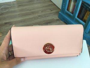Geldbeutel von Carpisa - neu - puder rosa