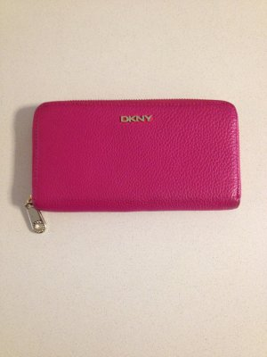 DKNY Wallet raspberry-red-gold-colored
