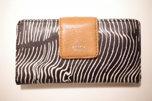 Fossil Wallet multicolored synthetic material