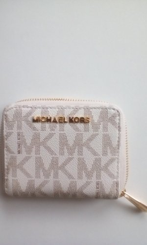 Michael Kors Wallet oatmeal-gold-colored leather