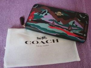 Coach Portefeuille multicolore