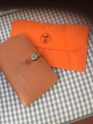 Hermès Portefeuille orange foncé