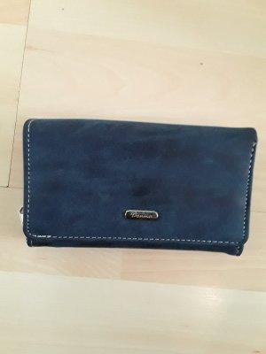 Geldbörse blau