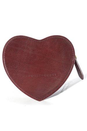 Portefeuille brun style décontracté