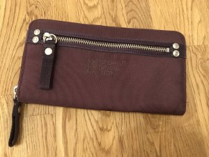George Gina & Lucy Wallet brown violet