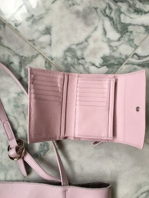 Coccinelle Wallet pink-mauve leather