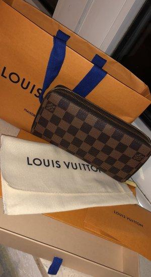Louis Vuitton Portemonnee bruin-goud