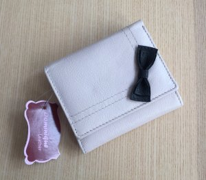 Wallet light pink-pink leather