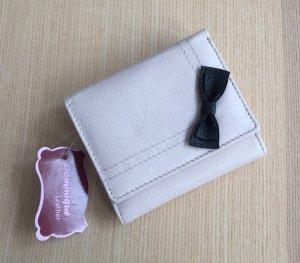 Portefeuille rose clair-rosé cuir