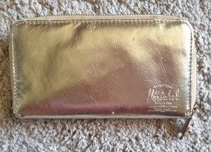 Herschel Wallet gold-colored leather