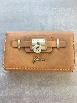 Guess Cartera beige-color oro