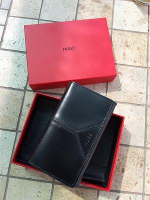 Hugo Boss Portefeuille noir cuir
