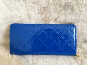 Portefeuille bleuet faux cuir